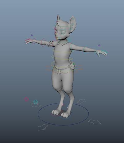 Maya Character Rig